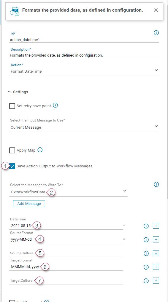FormatDateTime Action Details 1
